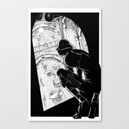 Spy Canvas Print
