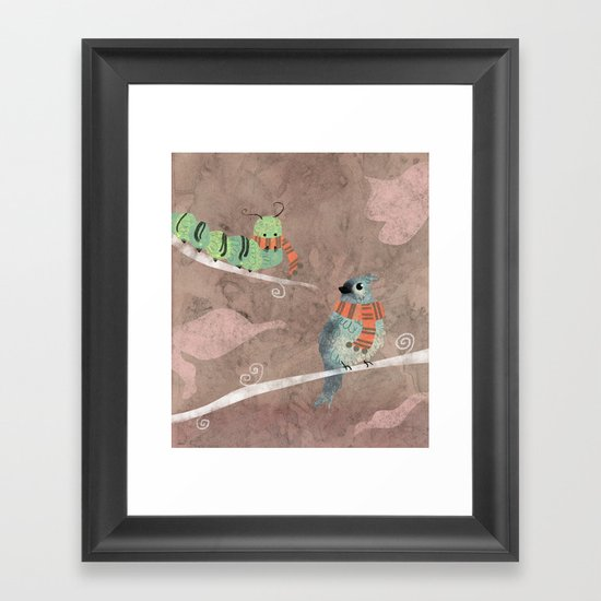 Wool Framed Art Print
