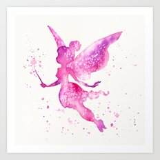 Off With The Fairies Art Print