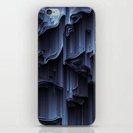 Glitch art iPhone Skin