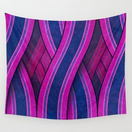 Psychedelic Route Wall Tapestry