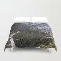 yosemite Duvet Covers featuring yosemite nature by anjastensrud