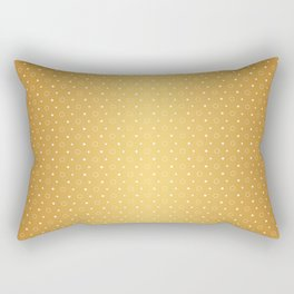 Art Deco, Simple Shapes Pattern 1 [RADIANT GOLD] Rectangular Pillow