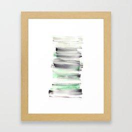 Frozen Summer Series 143 Framed Art Print