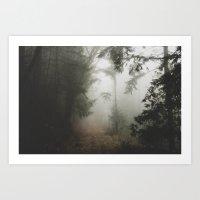 fog Art Prints featuring Fog by Melanie McKay