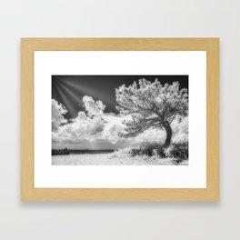 Imaginary light Framed Art Print