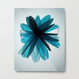 Origami 40 Metal Print