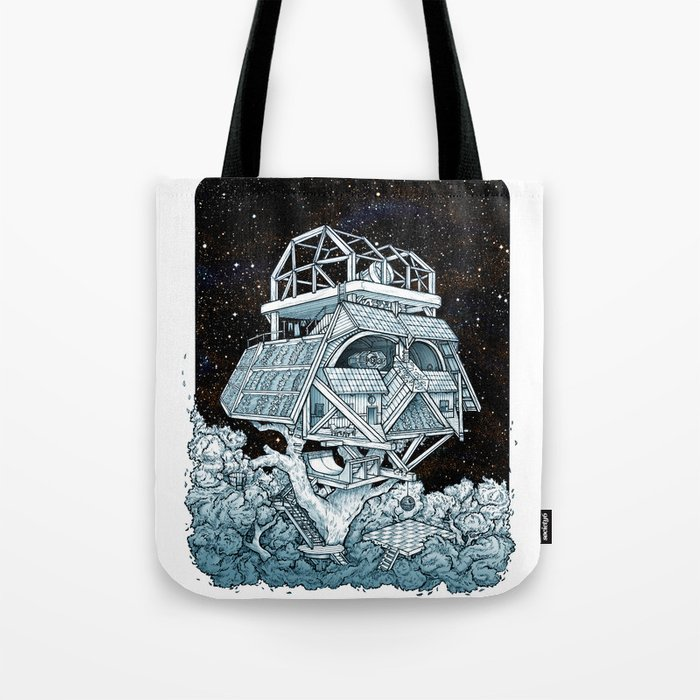 Darth's Treehouse  Tote Bag