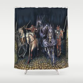 The Four Horsemen of the Apocalypse 2016 Shower Curtain
