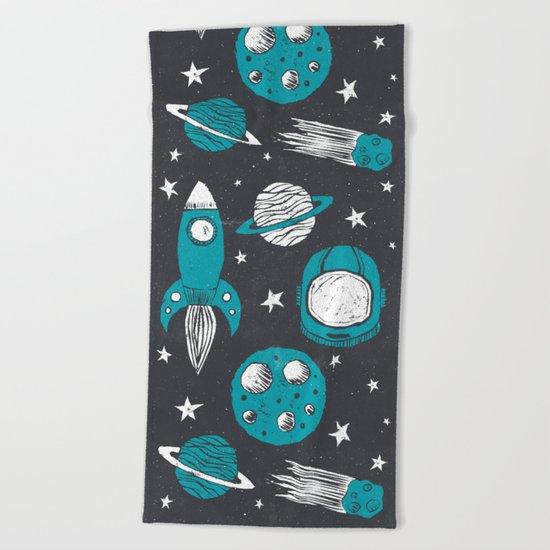 Space Age Beach Towel