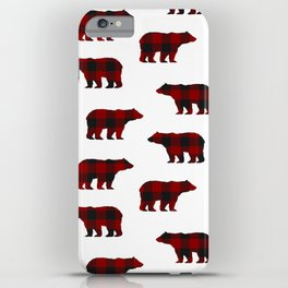 Lumberjack Bears iPhone Case