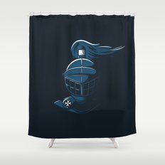 Knight Time Shower Curtain