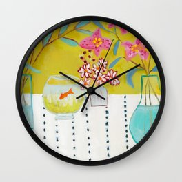 Stargazers Wall Clock
