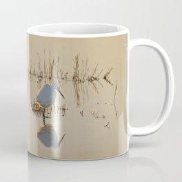Little Egret at Dusk Coffee Mug