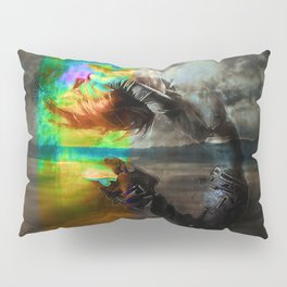 Waves in the infinite Pillow Sham
