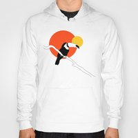 toucan Hoodies featuring Toucan by Rebekhaart