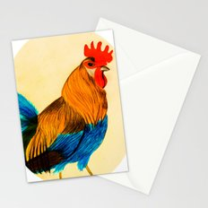 Rooster - Chinese new year 2017 Stationery Cards