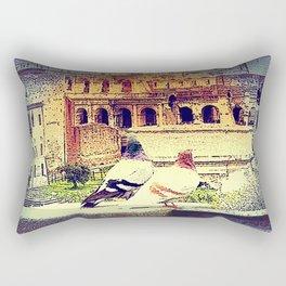 Romantic Rome Rectangular Pillow