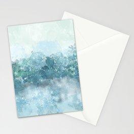 Choppy Blue Ocean Water Stationery Cards