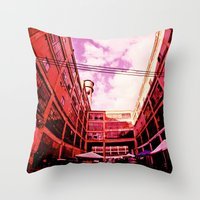 community Throw Pillows featuring Community by Litew8