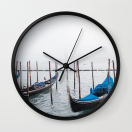 Winter in Venice Wall Clock