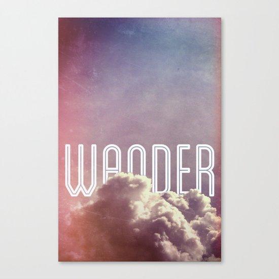 Wander (vertical) Canvas Print