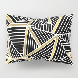 Ab Lines 2 Gold Pillow Sham