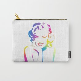 Marilyn | Sex Symbol | Monroe | Rainbow Series | Pop Art Carry-All Pouch