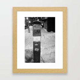 They're Never Gonna Come Framed Art Print