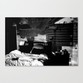 Inside out Window Canvas Print