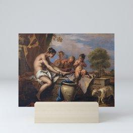 Sebastiano Ricci - Nymphs and Satyrs Mini Art Print