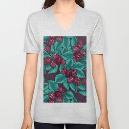 Balckberry Unisex V-Neck