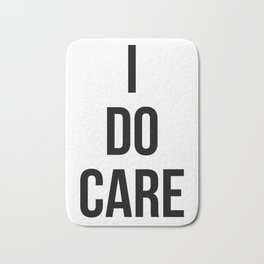 I Do Care Bath Mat
