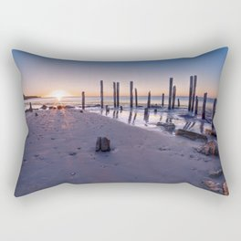 Port Willunga Sunset Rectangular Pillow
