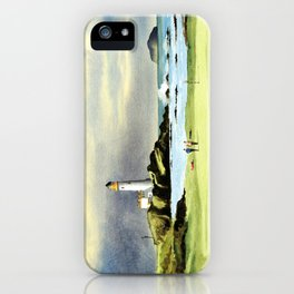 Turnberry Golf Course 10th Green iPhone Case