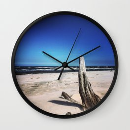Baltic Seadebris Wall Clock