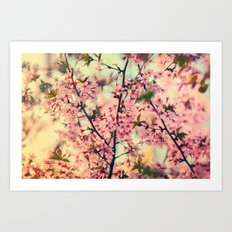 Smell of spring Art Print