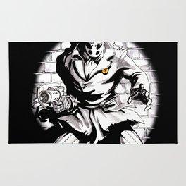 Rorschach Inspired Illustration Rug