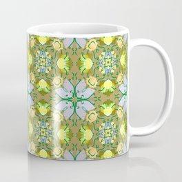 Abstract flower pattern 5a Coffee Mug