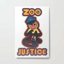 zoo justice Metal Print