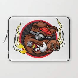 boar head for sport team mascot Laptop Sleeve