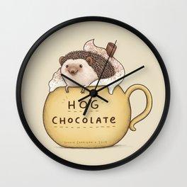 Hog Chocolate Wall Clock