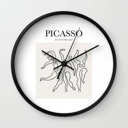Picasso - Les Trois Danseuses Wall Clock