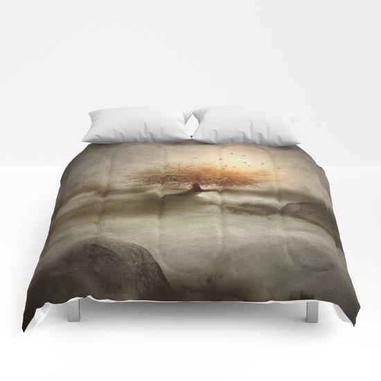 Lone Tree Love IV Comforters