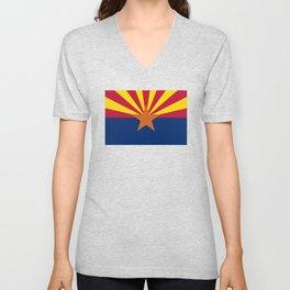 Arizona: Arizona State Flag Unisex V-Neck