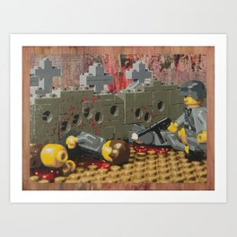 Russian Partisan Execution Art Print
