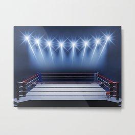 Boxing arena Metal Print