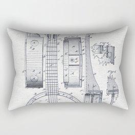 Banjo 1882 Rectangular Pillow