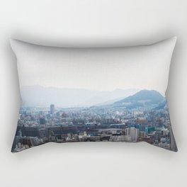 Hiroshima City from Above Rectangular Pillow