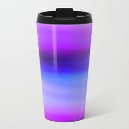 purple Metal Travel Mug